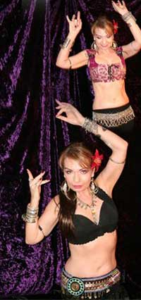 Tribal Style Belly Dancing with Diana in Southern California