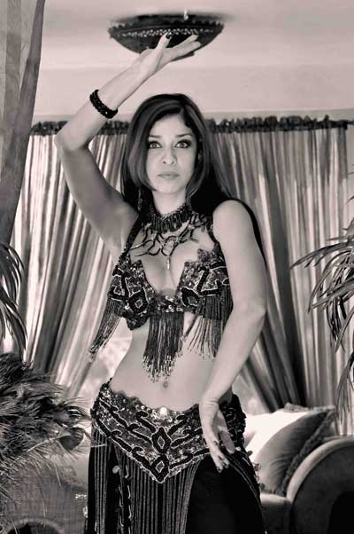 Katia Lopez, Snake Charmer  Belly Dancer, Serpent Sorceress