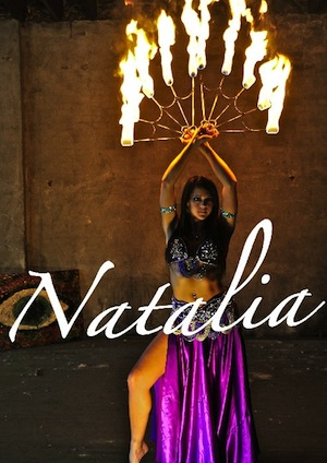 Natalia Fire Dancer