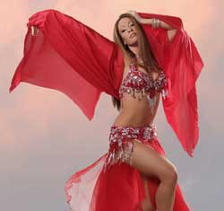 Rachel George, Bellydancer and Entertainer, Palm Springs, CA