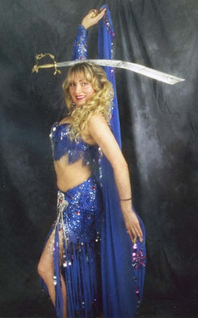 Suzana, belly dancer in Los Angeles, California